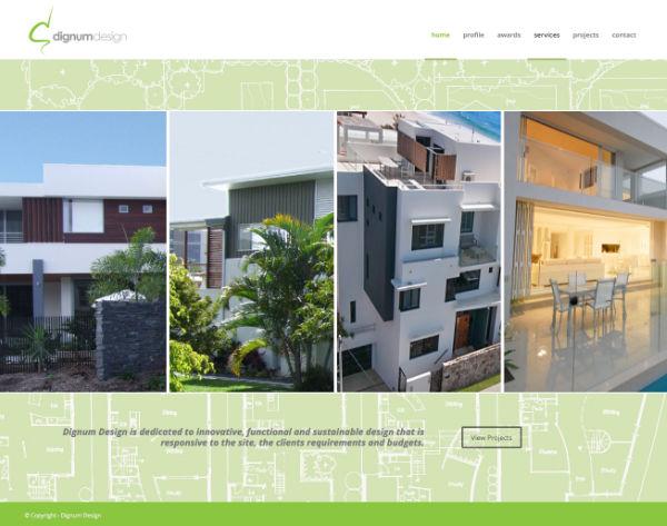 Website Dignum Design