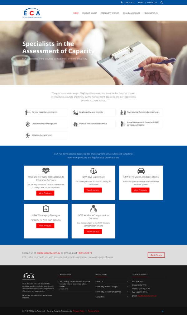 Website ECA