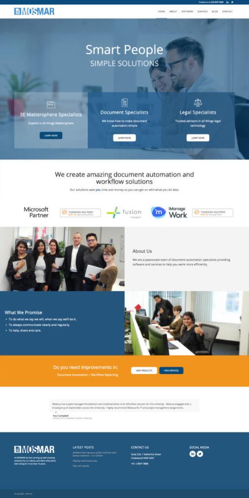 Website Mosmar