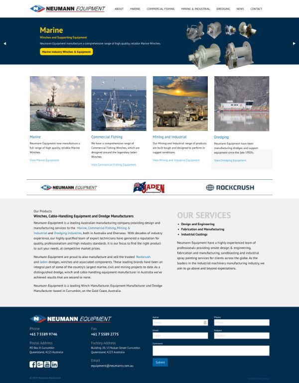Website Neumann Equipment