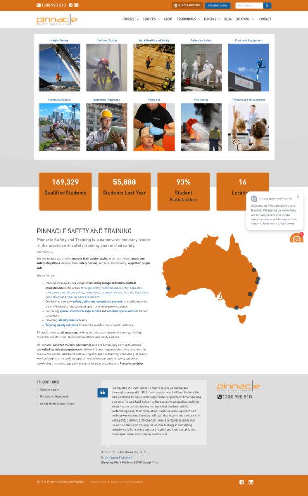 Website Pinnacle Safety
