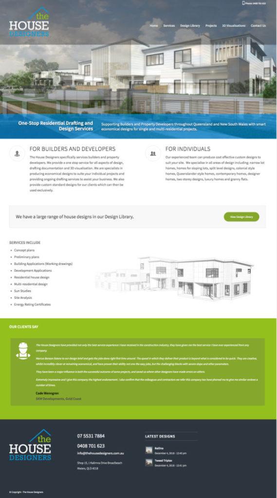 Website The House Designers